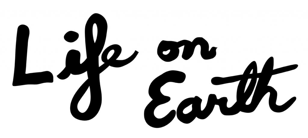Life On Earth Band Logo by Michael Foley